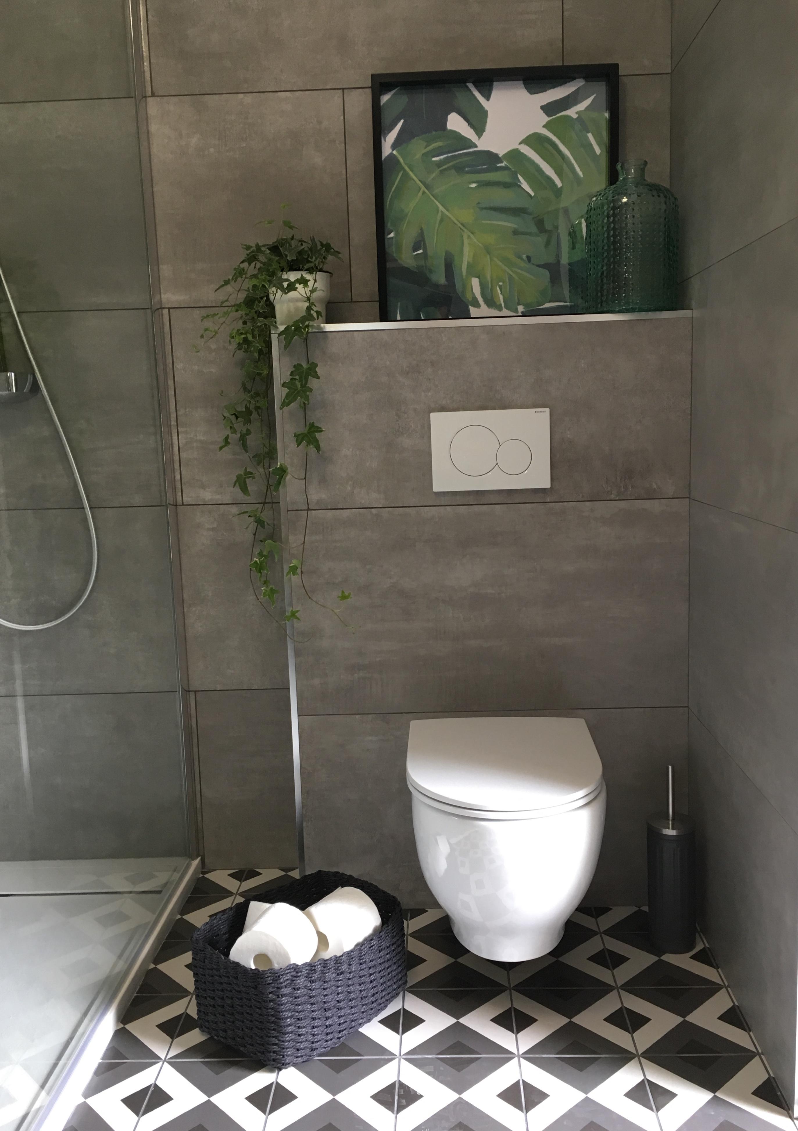 WC suspendu